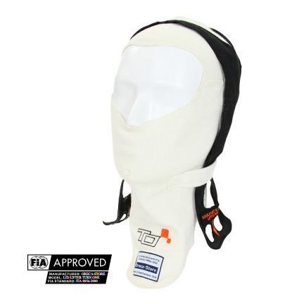 BALACLAVA ABERTA TURN ONE FIA COM LID LIFTER